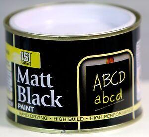 151 matt black paint decorating indoor outdoor top coat - Exterior matt paint collection ...
