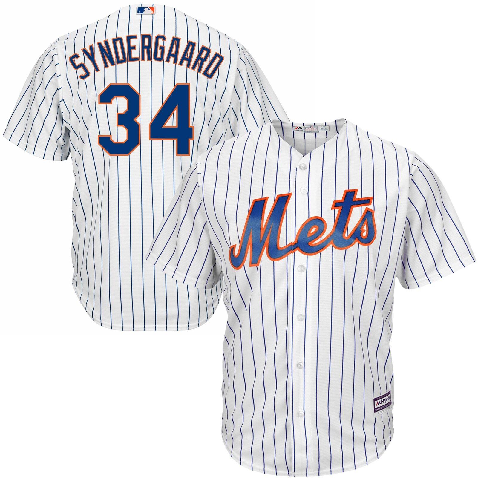 MLB New York Mets Noah Syndergaard Majestic Heim Replik Replik Heim Trikot Shirt Herren 3d8afc
