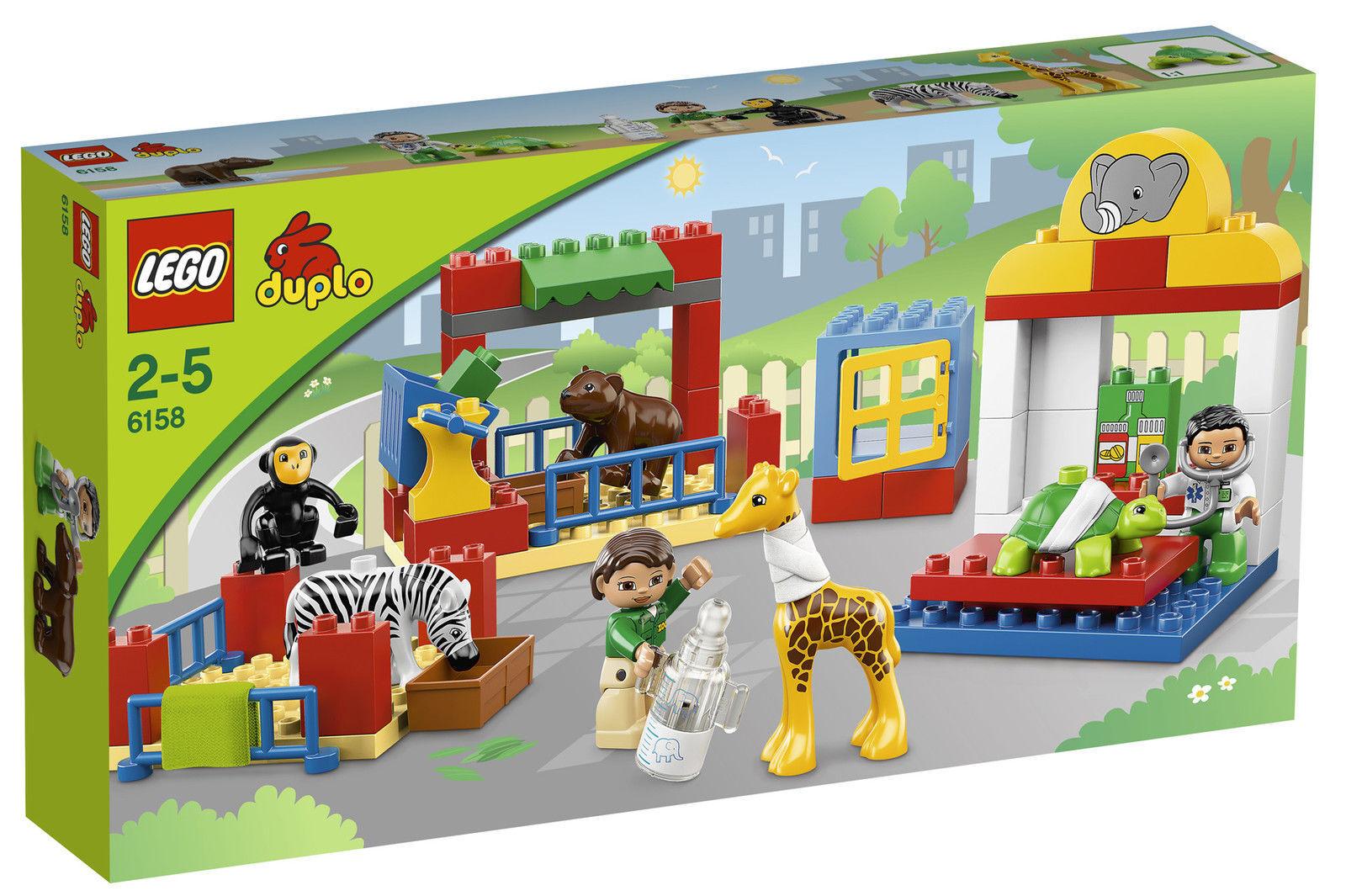 LEGO Duplo Tierpflegestation (6158) NEU OVP Selten, Sammler
