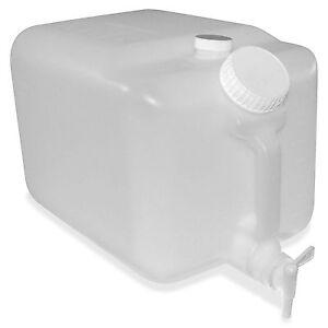 """Impact E-Z Fill Container 5 Gallon 9.5""""x10"""" Translucent 7576"""