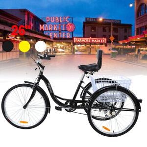 26 39 39 3 rad fahrrad dreirad f r erwachsene dreiradfahrrad aluminiumlegierung ebay. Black Bedroom Furniture Sets. Home Design Ideas