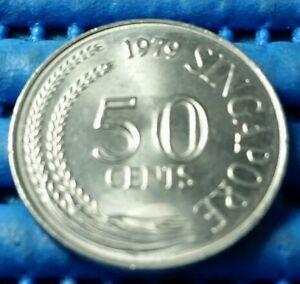 1979-Singapore-50-Cents-Lion-Fish-Coin