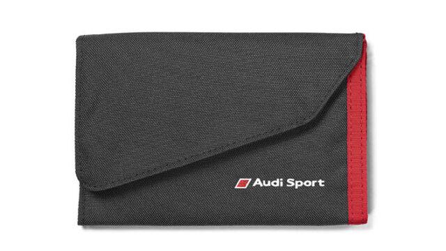 3151600400 schwarz//rot Audi Sport Geldbörse