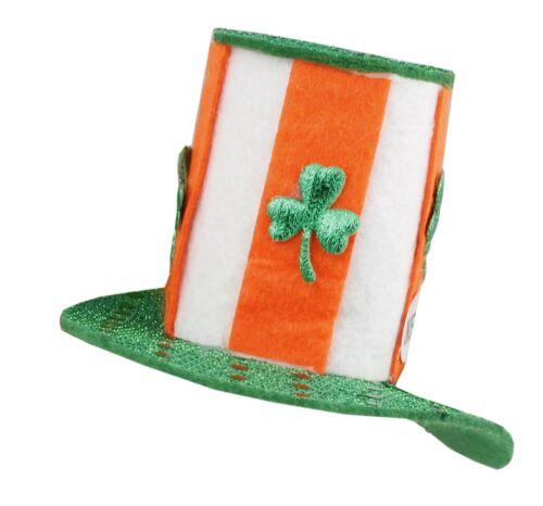 St Patrick/'s Day Hair Clip Barrette Lucky Leprechauns Irish Fascinator Top Hat