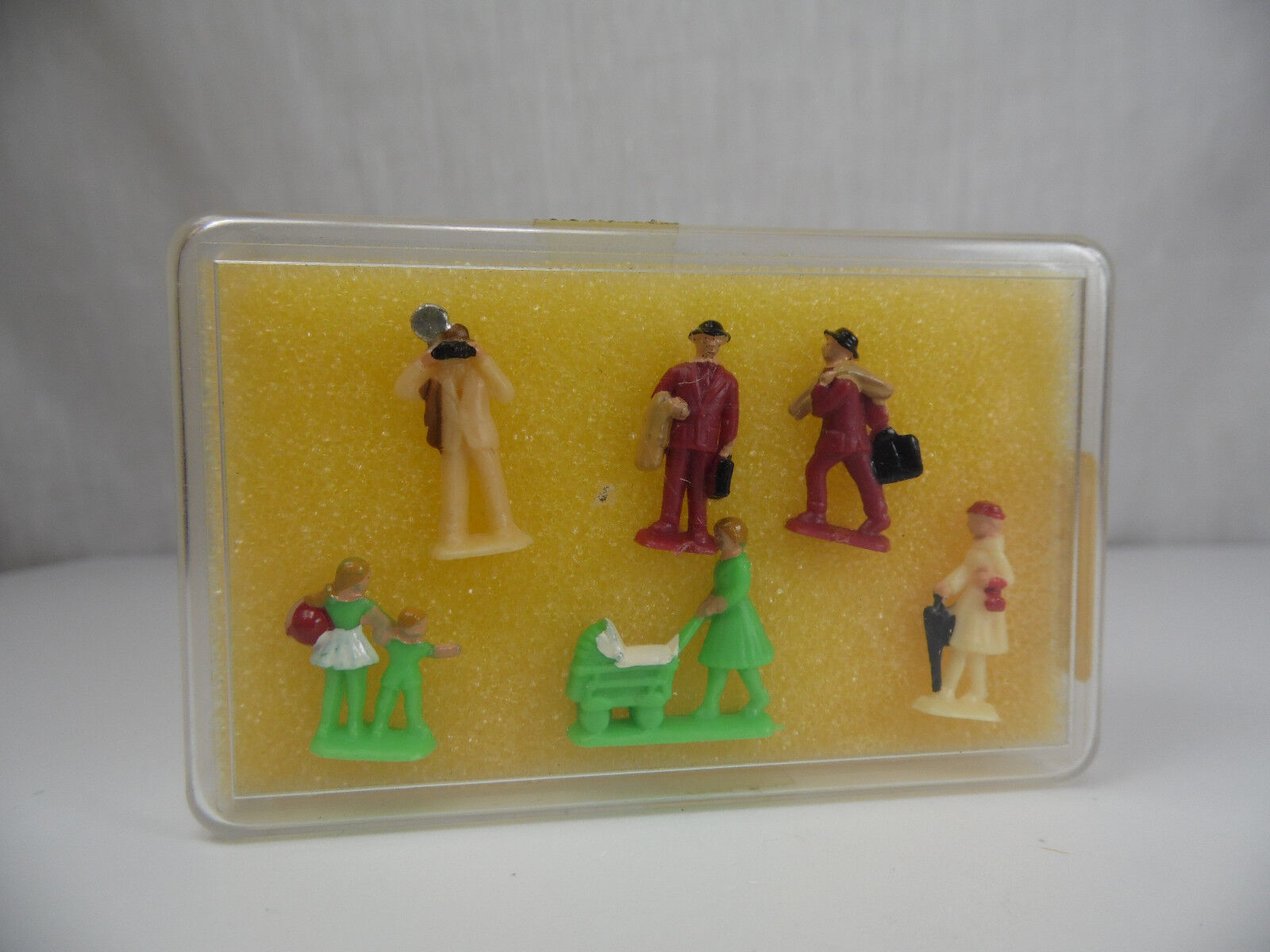 H1082, Old kipri Figurines Set MINT BOX 1 87 H0 - 00 6530 Plastic Figures 60er