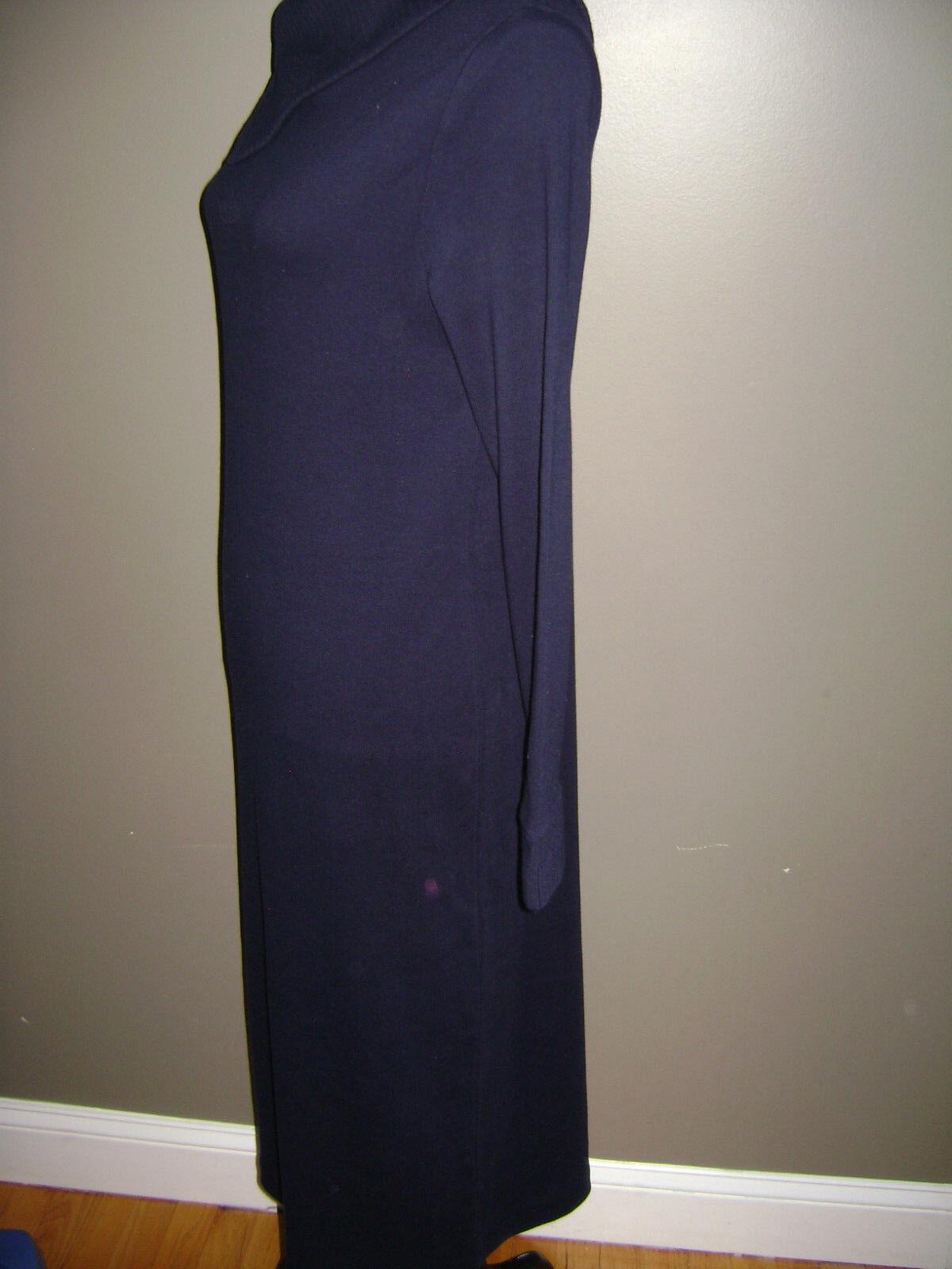 RALPH LAUREN WOMEN LONG SLEEVE DRESS size S BLUE … - image 6
