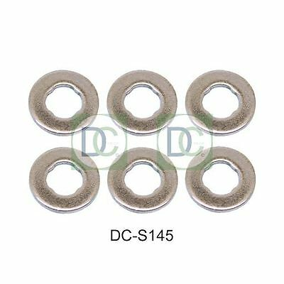 BMW 730 D Seals Pack of 6 E65, E66 Bosch Common Rail Diesel Injector Washers