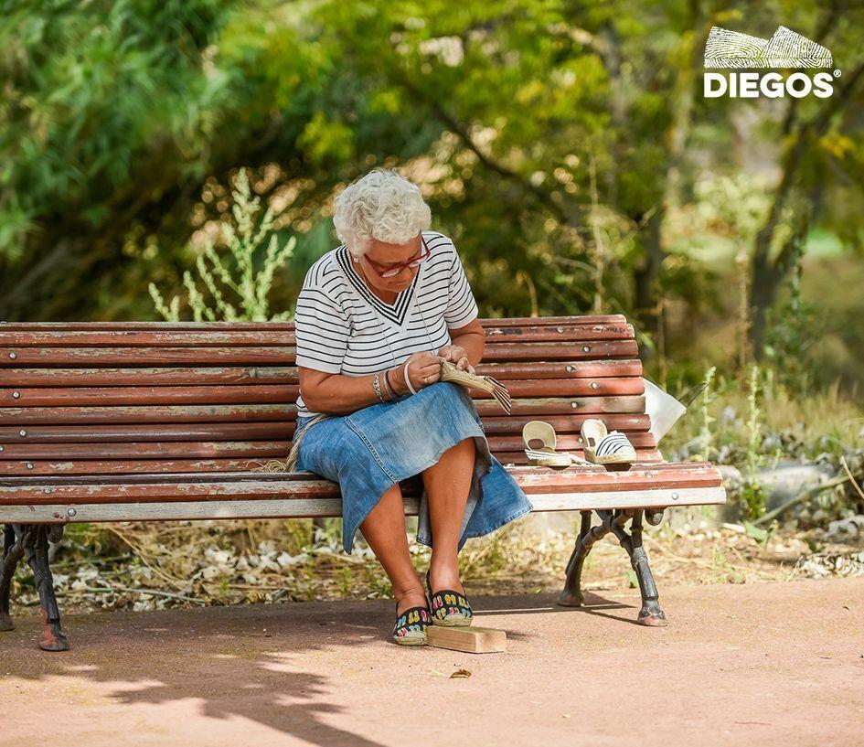 Diegos® Classic high wedge denim denim denim Belen espadrilles schuhe hand made in Spain 90541d