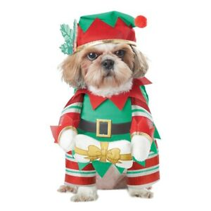 Christmas Pet Clothes Funny Standing Outfits Set Dog Cosplay Costume Hot New Uk Ebay