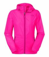 The North Face Women's Cyclone Glo Pink Hoodie Windbreaker Size M