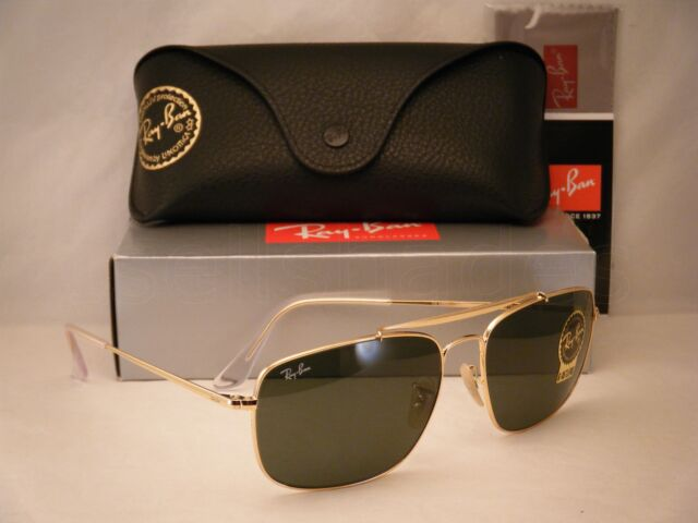 Ray-Ban The Colonel Sonnenbrille Gold 001 61mm 1IfuP5Wg