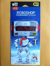 RARE Best Buy Roboshop Programmable Scrolling LED Display Gift Card $0 NO VALUE