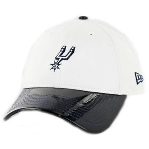 New-Era-920-San-Antonio-Spurs-034-Retro-Hook-034-Strapback-Hat-White-Navy-Dad-Cap