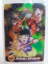 Carte Dragon Ball Z DBZ Morinaga Wafer Card Part 07 #417 3D MADE IN JAPAN