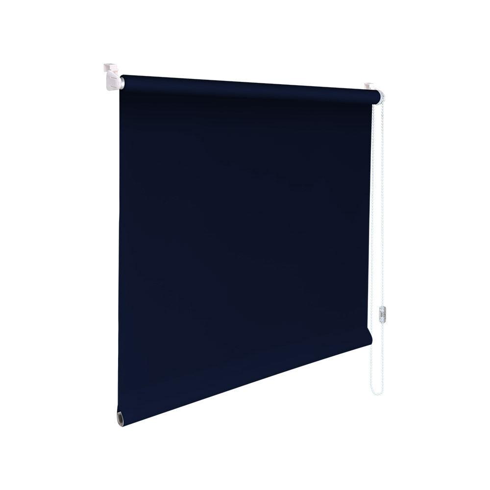 Minirollo Klemmfix Klemmfix Klemmfix Sichtschutz-Rollo - Höhe 100 cm dunkelblau | Diversified In Packaging  3d43fe