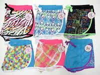 Girls So Athletic Active Performance Shorts Size 8 10 12 14 Plus Clothes Printed