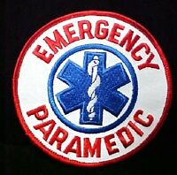 Emergency Paramedic Patch Blue Star Of Life Emblem Arm Chest Official 4