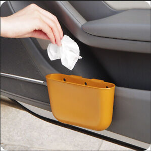 Car Mounted Trash Can Car Storage Compartment Car Small