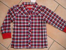 (X217) Süße Imps & Elfs Baby Langarm Bluse + Druckknöpfen & Sweatbündchen gr.74