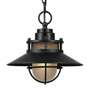 Details About Porch Light Fixture Outdoor Ceiling Pendant Globe Front Hanging Chain Industrial