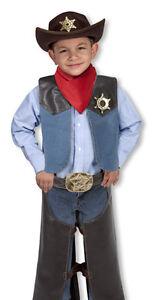 Melissa & Doug Cowboy Role Play Set #4273 Brand New