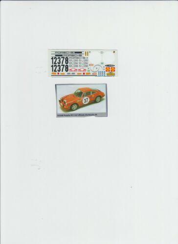 1:43 decal Racing43:Porsche 911 2.2 S Montecarlo 1969 Waldegard
