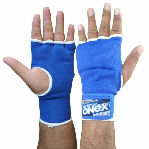Quick HAND WRAPS imbottitura interna Guanti Allenamento Pugilato Speed Ball Boxe Mitt