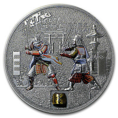 2015 Cook Islands Proof Silver $5 History of the Samurai - SKU #87984