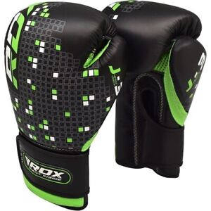 RDX-Kids-Boxing-Gloves-For-Training-amp-Muay-Thai-Maya-Hide-Leather-Mitts-Sparring