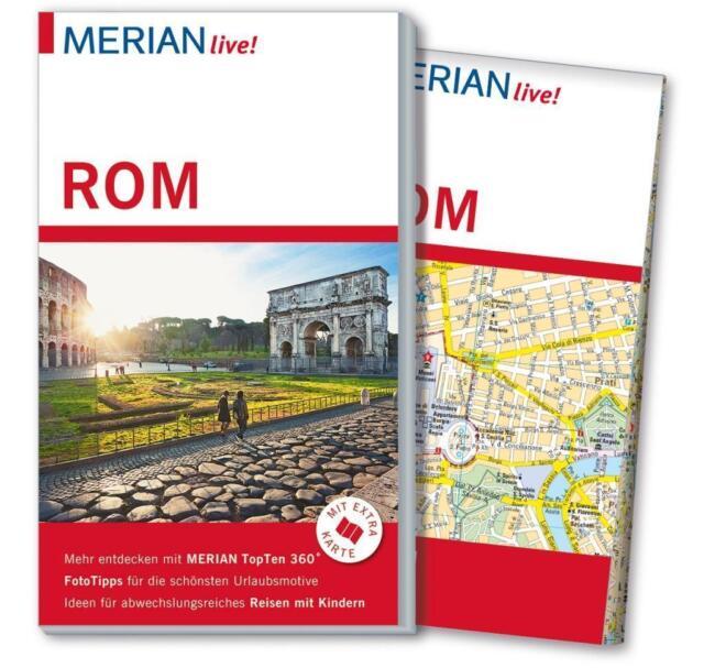 MERIAN live! Reiseführer Rom von Monika Pelz und Thomas Migge (2015, Taschenbuch