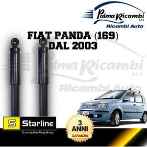 2003 in poi COPPIA Ammortizzatori posteriori A GAS per FIAT PANDA 4X4 169