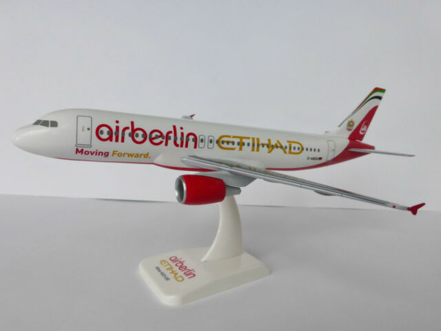 airberlin ETIHAD Moving Forward Airbus A320-200 1/200 Limox Wings AB07 A320