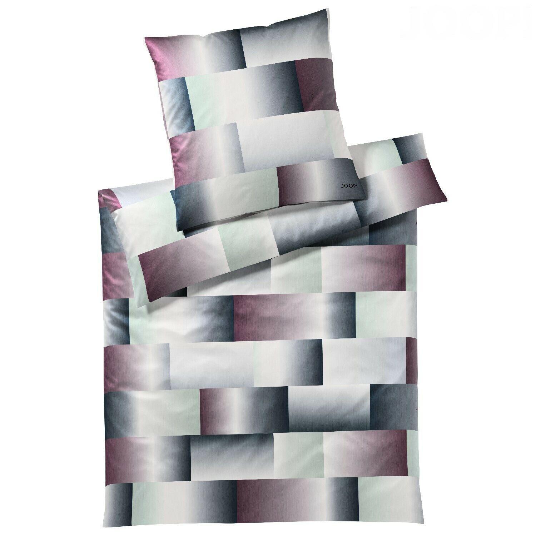 JOOP  Bettwäsche Range 4087 Farbe 1 Gloomy Darks 155x220cm + Handtuch gratis