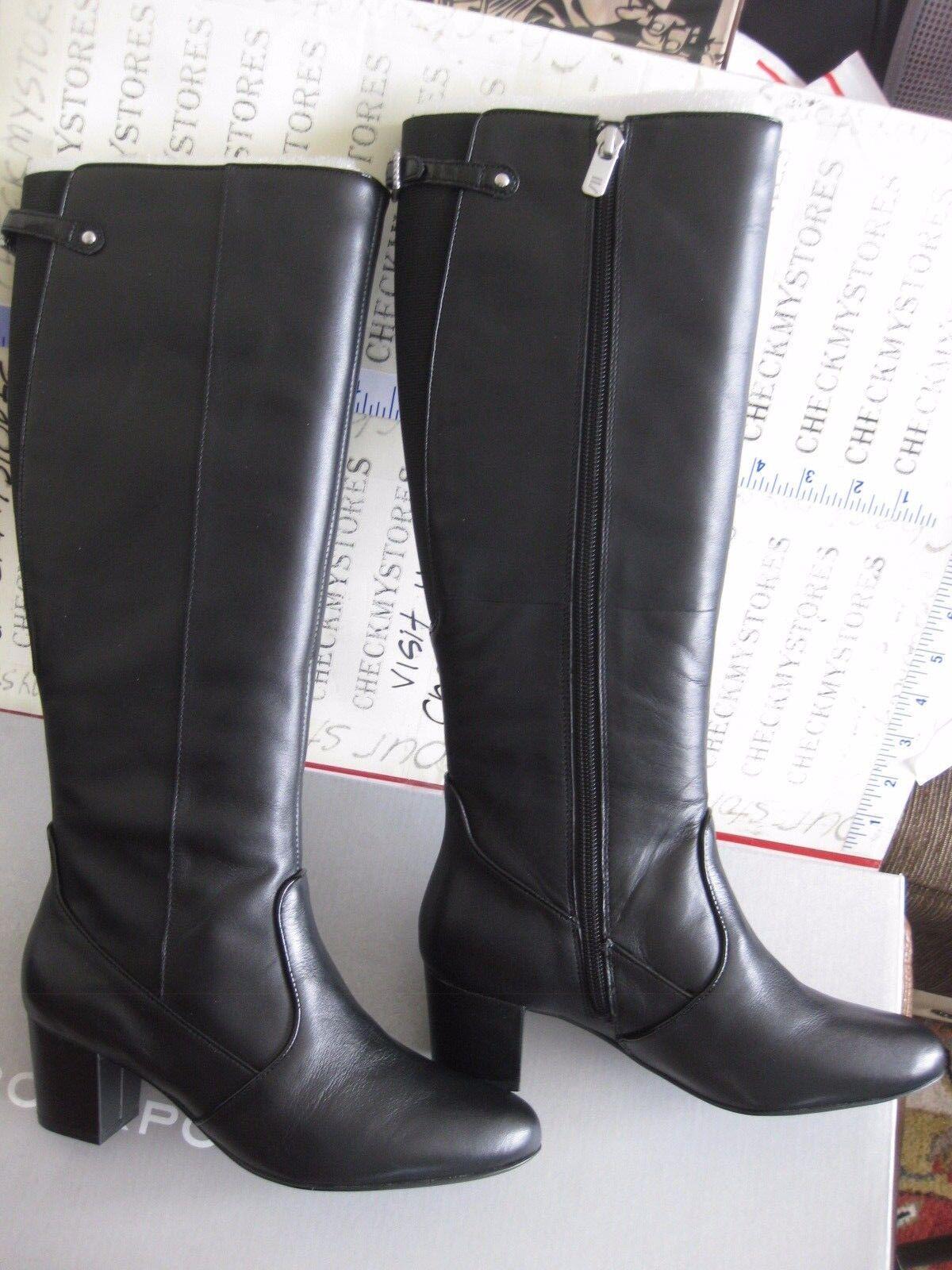 Para tu estilo de juego a los precios más baratos. Nuevo En En En Caja Rockport Para Mujer Rockport V74672 Premium Cuero Moda botas Hasta La Rodilla  entrega de rayos
