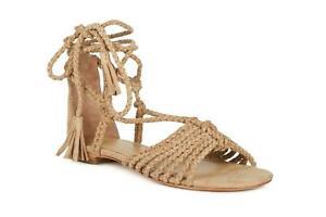 3996b2b01f5c NWOT  288 Joie Size 38 WOMEN S Falk Ankle Wrap suede Sandal 4181AN1 ...