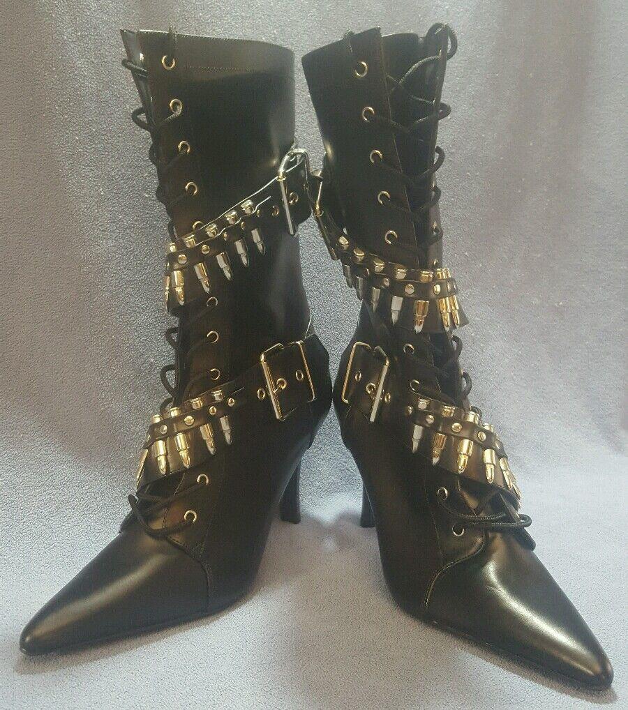 Funtasma Funtasma Funtasma militante - 128 para mujer botas Talla 8M Negro Disfraz Cosplay Zombie  orden ahora disfrutar de gran descuento
