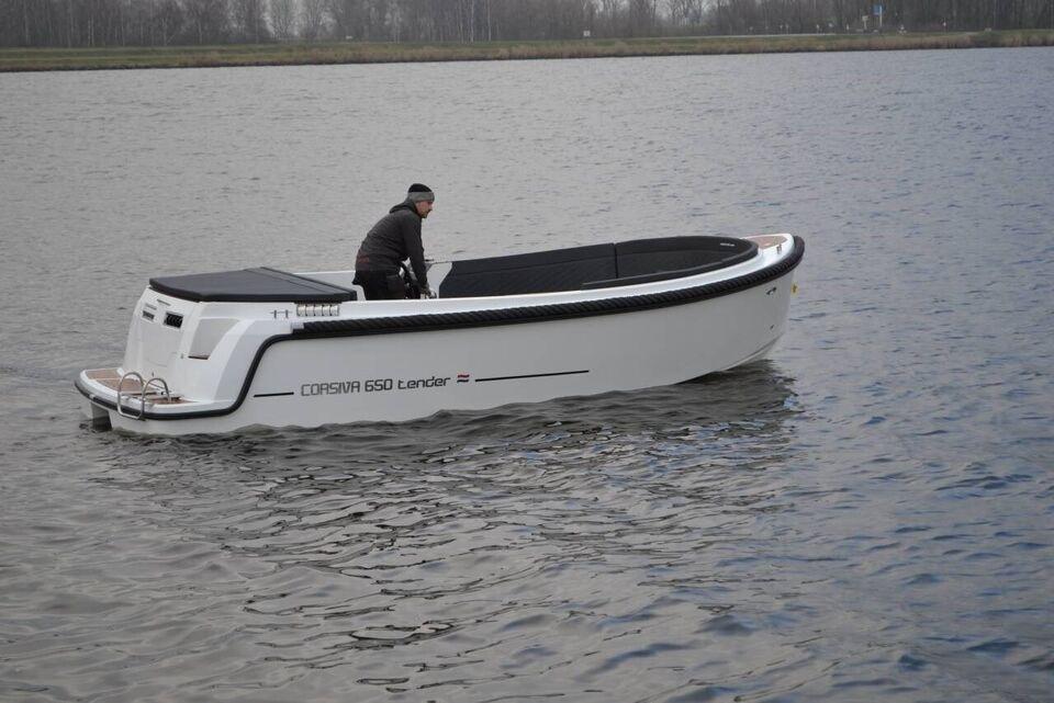 Corsiva 650 Tender m/25 hk og Udstyr, Motorbåd, årg. 2019