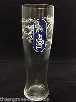 Tiger Pint Glass - Personalised Engraved Gift & Gift boxed