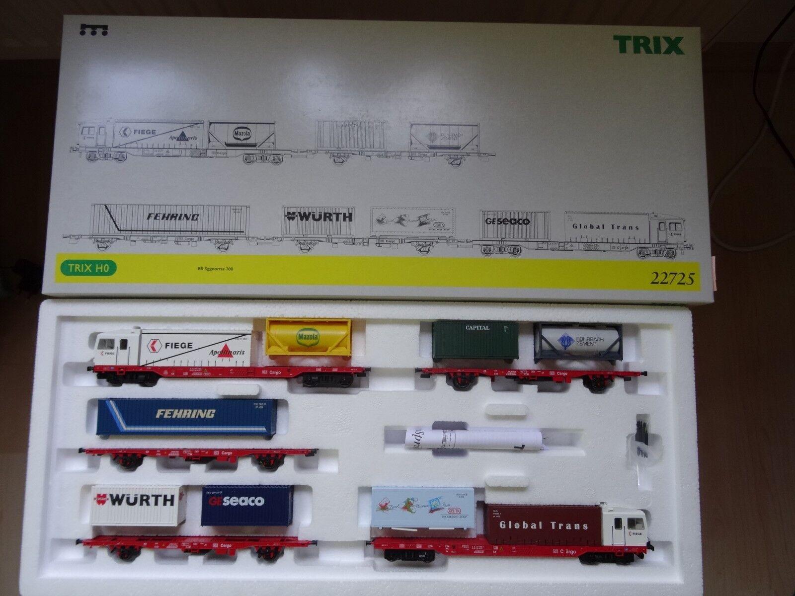 Trix ho Art 22725 contenedores sprinter br sggoorrss 700 dc direcciónDeInterfaz nuevo en el embalaje original