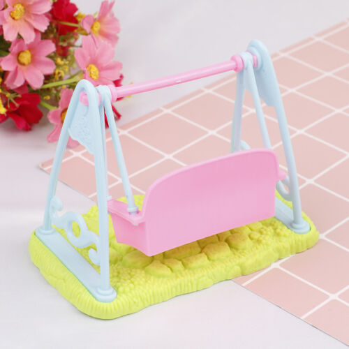 Swing Set For Doll Girl Doll Toy House Furniture Accessories /_HK