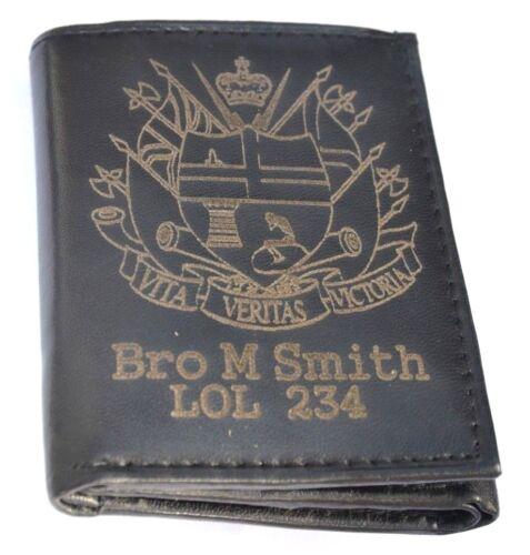 Abod Apprentice Boys di DERRY Regalo Personalizzato Portafoglio con qualsiasi nome /& Lol NO