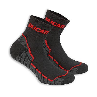 DUCATI TECH-SOCKS 2014 COMFORT, A PAIR OF BLACK SOCKS