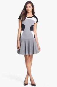 Furstenberg Dress Flare Knit Dvf Dress Diane Von Monochrome Fit And Renee HqwqxnOIYz