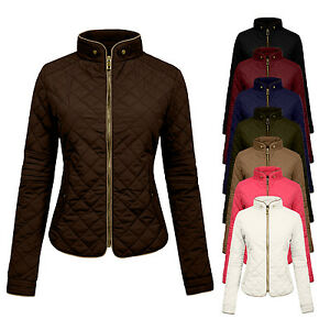 NE PEOPLE Women&amp039s Lightweight Quilting Padded Puffer Zip up