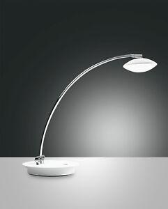 LED-Tischleuchte-Hale-1flg-Fabas-Luce-weiss-Tischlampe-Lampe-Leuchte-Touchdimmer