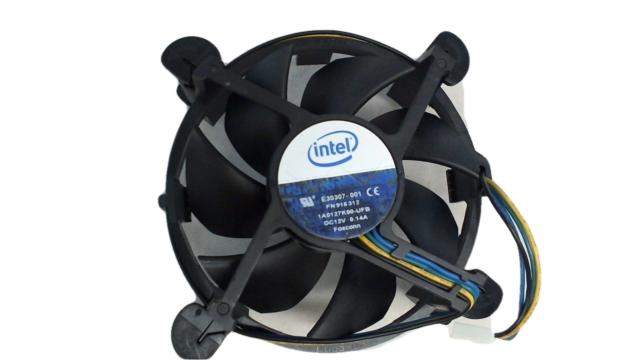 Intel E30307-001 Socket 775 Aluminum CPU Cooler 4-Pin PWM Connector NO HEATSINK