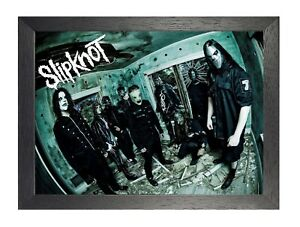 Slipknot 4 American Heavy Metal Band Poster Scary Mask Photo Music Star Legend