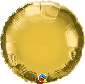 GOLD-ROUND-BALLOON-18-034-METALLIC-GOLD-PLAIN-QUALATEX-FOIL-BALLOON