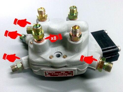 Komplett Reparatursatz für 4 Cyl Alloy Bosch Ke-Jetronic Kraftstoff Verteiler