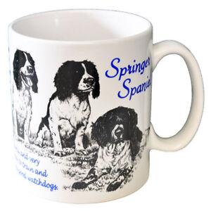 Springer-Spaniel-Ceramic-Coffee-Mug-Dog-Origins-Breed